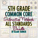 Math Interactive Notebook: 5TH GRADE COMMON CORE