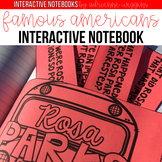Interactive Notebook: Famous American Heroes & Holidays