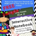 Interactive Notebook For Special Educaiton Free Sample