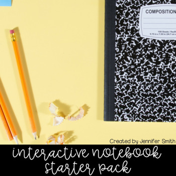 Interactive Notebook Starter Pack for ALL SUBJECTS