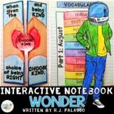 Wonder, by R.J. Palacio: Interactive Notebook