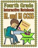 Interactive Notebook, Fourth Grade CCSS (Reading Literatue