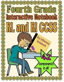 Interactive Notebook, Fourth Grade CCSS (Reading Literatue