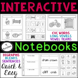 Common Core Interactive Notebooks Phonics Bundle