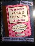 Interactive Reading Literature Notebooks ~ HARD COPY Spira