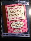 Interactive Reading Literature Notebooks ~ HARD COPY Spira