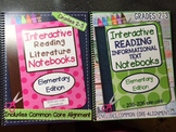 Interactive Reading Notebook Bundle for Grades 2-3 SPIRAL