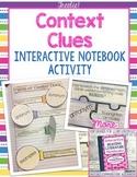 Interactive Reading Notebooks ~ FREE Bonus Lesson! Context Clues