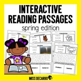 Interactive Reading Passages SPRING Edition