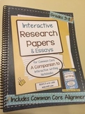 Interactive Research Papers ~ Spiral Bound HARD COPY ~ *Li