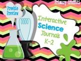 Interactive Science Journal {K-2 Freebie}
