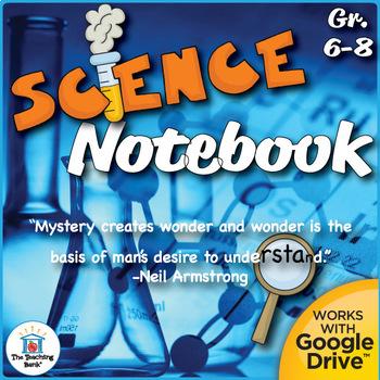 Interactive Science Notebook Grades 6-8