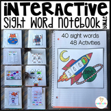 Interactive Sight Words Notebook Pre-Primmer {Bundle} for