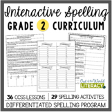 Interactive Spelling Grade 2: A Year Long Common Core Unit