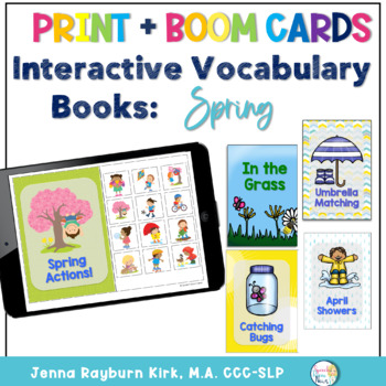Interactive Vocab Books: Spring