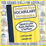 Interactive Vocabulary Notebooks: Greek & Latin Roots, Pre