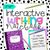 Interactive Writing Notebook CCSS 3rd-6th Grade