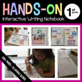 Interactive Writing and Grammar Notebook Hands-On First Gr