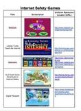 Internet Safety Games: Grades 2-8