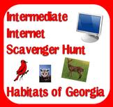 Internet Scavenger Hunt - Intermediate Grades - Habitats o