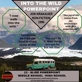 Literature PowerPoint - Into the Wild