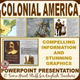 Intro to Colonial America/ Puritanism in the Colonies Powerpoint