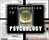 Intro to Psychology Chapter 1 Entire Unit: PPTs, Worksheet