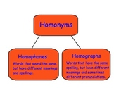 Introduction To Homonyms - SMART Board Lesson