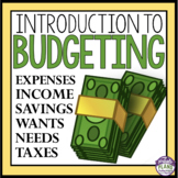BUDGETING & FINANCES: An Introductory Powerpoint Presentat