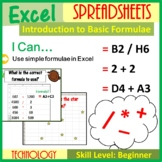 Microsoft Excel - Introduction to Excel Spreadsheets