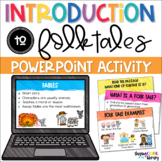 Introduction to Folk Tales PowerPoint and Brochure