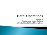 Introduction to Hotel Operations