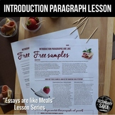 Introductions are like Free Samples: A Writing Lesson for