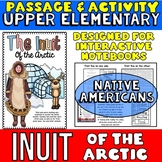 Inuit Native Americans Passage and Activity for INTERACTIV