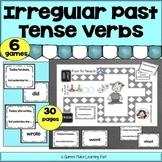Irregular Past Tense Verb Game- Grammar and Vocabulary Unit Plan