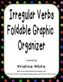 Irregular Verbs Foldable Graphic Organizer