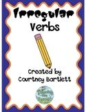 Irregular verbs pack