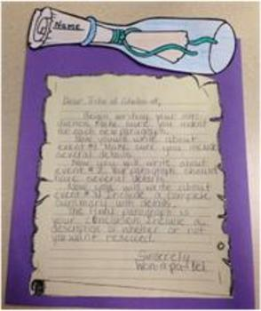 Message in a Bottle Writing Activity - Pinterest