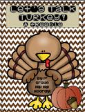 """It's November so """"Let's Talk Turkey""""!...Creative Writing a"""