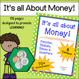 It's All About Money!  ~ 70+ Worksheets & 8 Centers ~