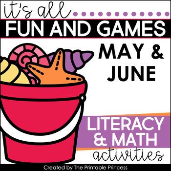 It's All Fun & Games {Summer Themed Math & Literacy Activities for Kindergarten}