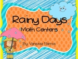It's Raining Math! {Centers}