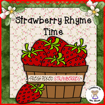 Strawberry Rhyme Time