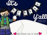 It's Winter Y'all {Writing, Literacy and Math Centers}