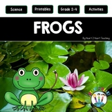 It's a Frog's Life Activity Pack for Grades 2-4