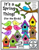It's a Spring Thing - For the Birds! Clip Art Collection
