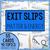 I've Got It! Physical Science Exit Slips