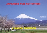 JAPANESE FUN ACTIVITIES! (CCSS, LANGUAGE, HISTORY, 44 PP)