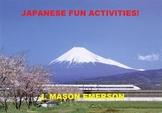 LANGUAGES: JAPANESE FUN ACTIVITIES! (44 PP)