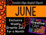 JUNE 2015 Graphics Club {Creative Clips Digital Clipart}